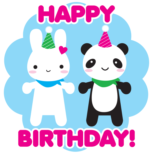 Birthday clipart kawaii And whole Le Us! retired