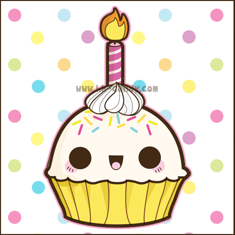 Birthday clipart kawaii Com/download  http://www Drawings for