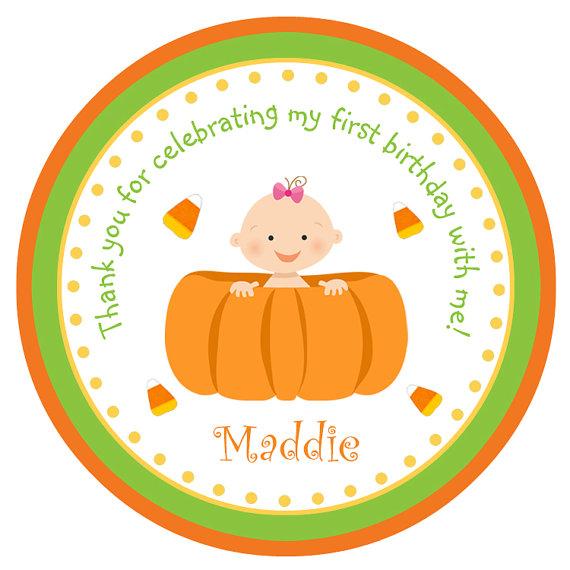 Birthday clipart pumpkin Birthday Pumpkin this stickers Pumpkin