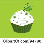 Birthday clipart st patrick's day Cupcakes Cupcakes Clipart Shamrock Download