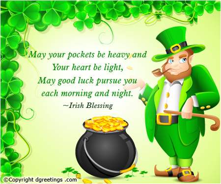 Birthday clipart st patrick's day Patrick's Day Quotes  St