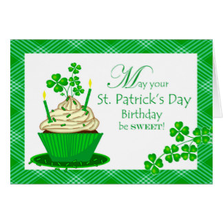 Birthday clipart st patrick's day Gifts on Day Day Birthday
