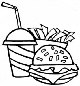 Biryani clipart black and white The with of gravy or