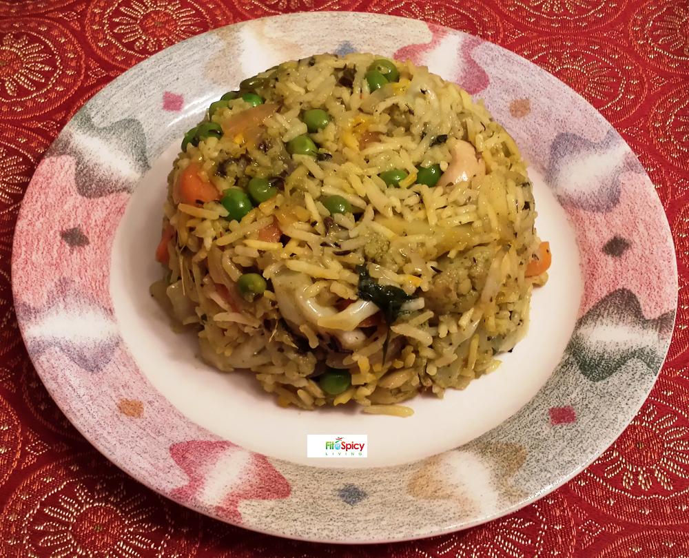 Biryani clipart cooking demo FitnSpicy Biryani (Indian FitnSpicy Living