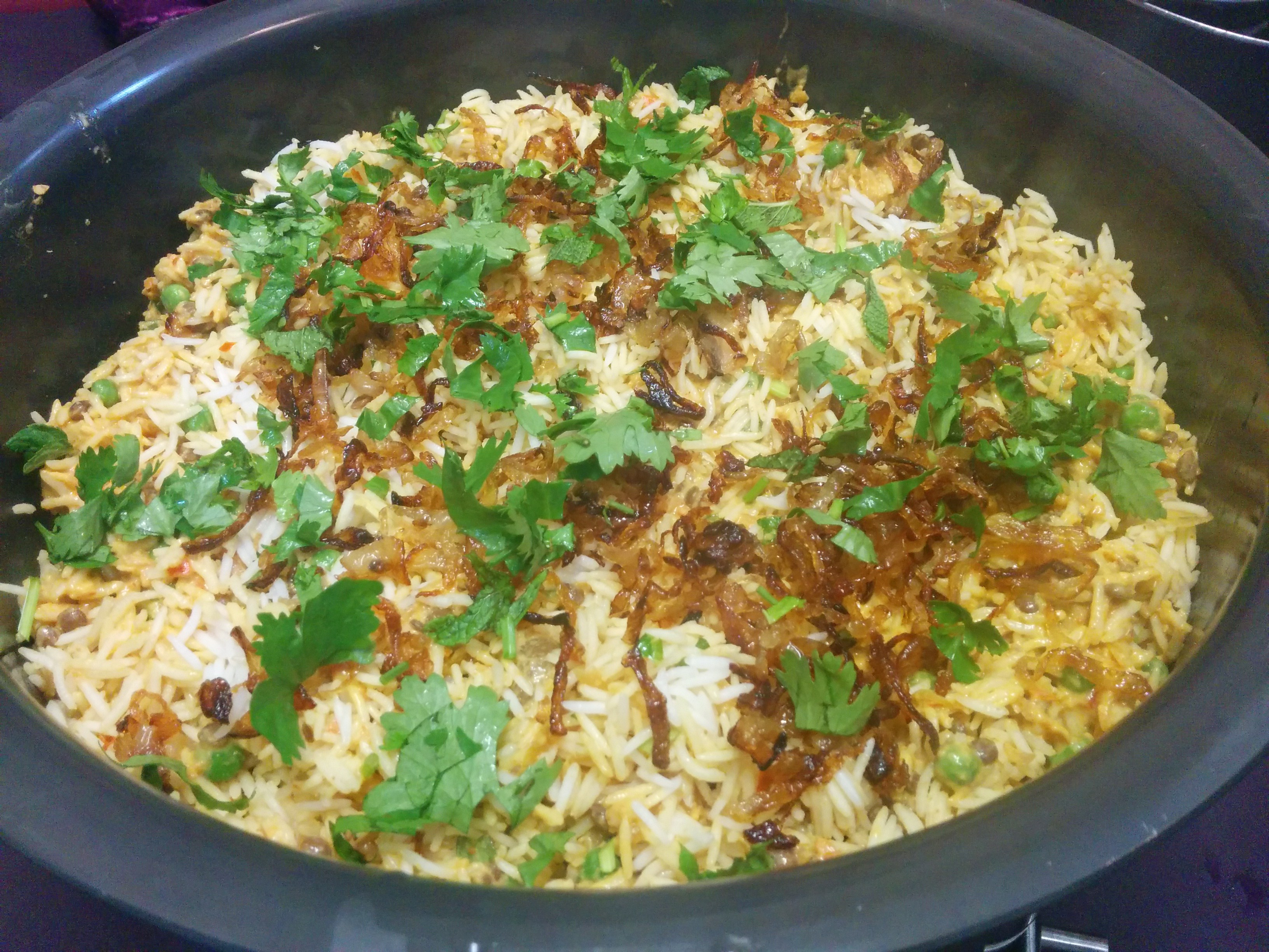 Biryani clipart cooking demo Ghosht HaloodieFoodie Demystifying and knife