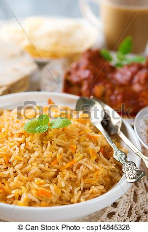 Biryani clipart curry Indian  and Stock biryani