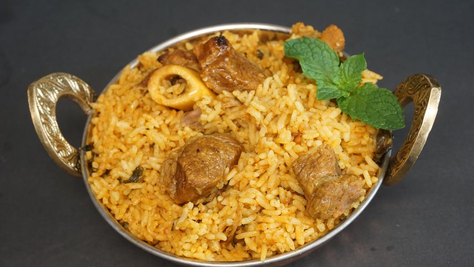 Biryani clipart food prep / Cooker Biryani Mutton Pressure