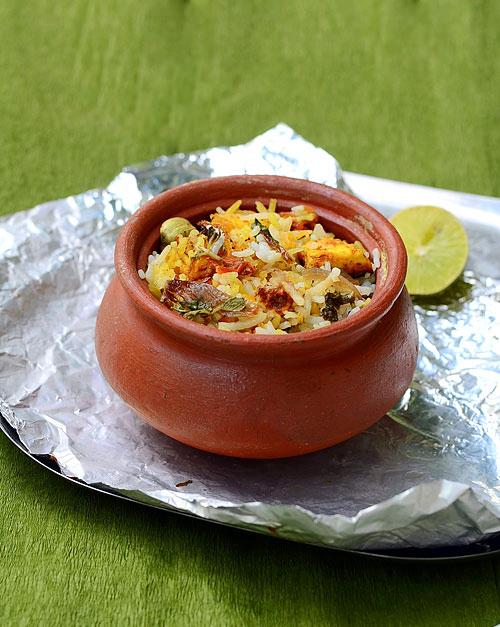 Biryani clipart matka Vegetarian Version Chitra's Biryani