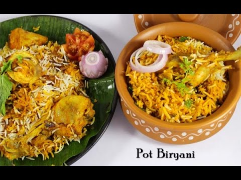 Biryani clipart matka Food YouTube Murgh Pot Biryani