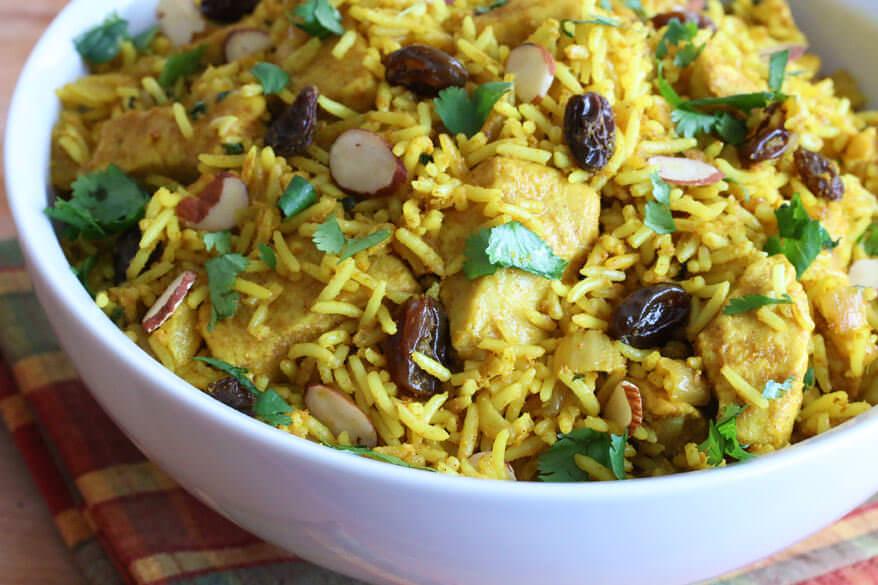 Biryani clipart plain Recipe chicken raisins Biryani fast