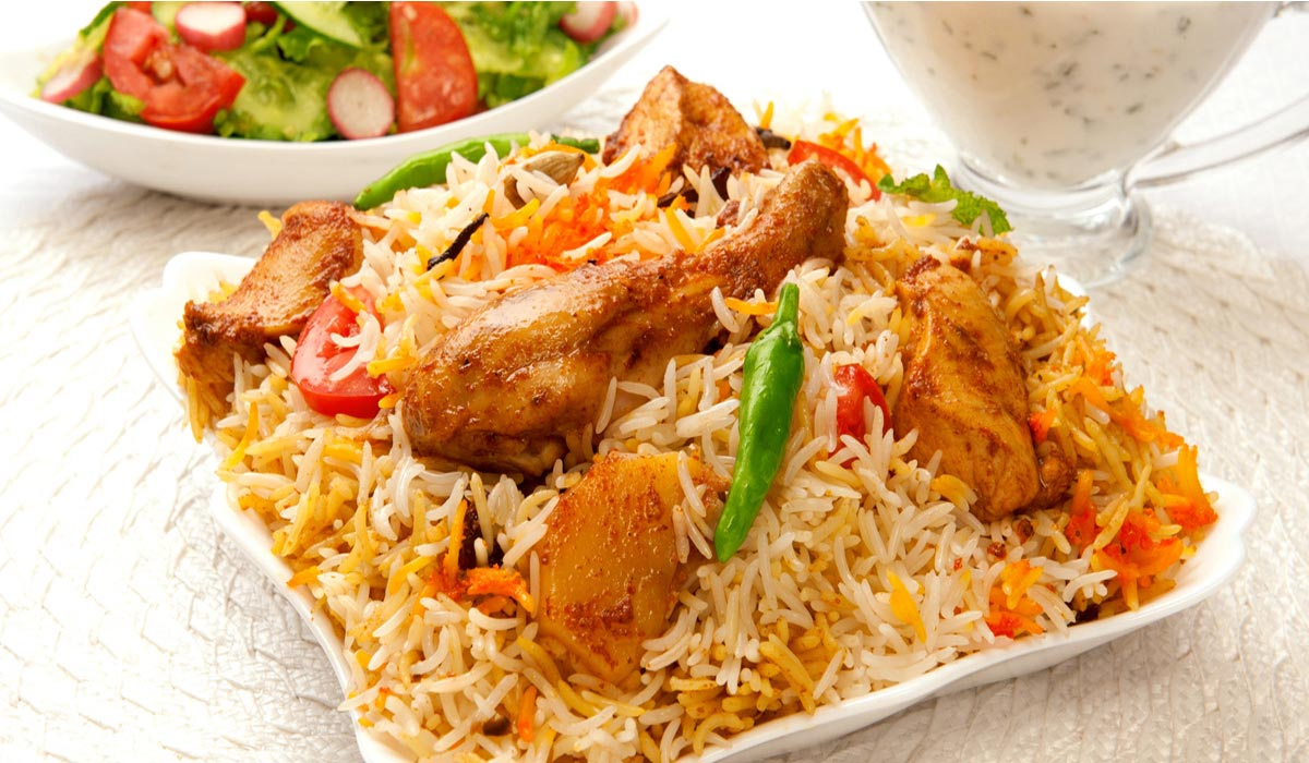 Biryani clipart plain Plain Chicken Flavours Rice Punjabi