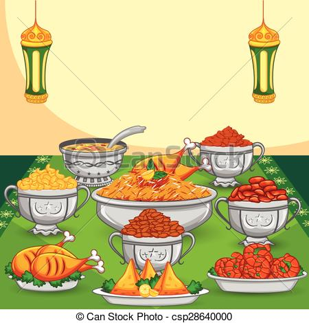 Biryani clipart ramadan iftar Food Clipart celebration Eid vector