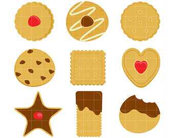 Biscuit clipart snack Yummy Crafts Making clipart Digital