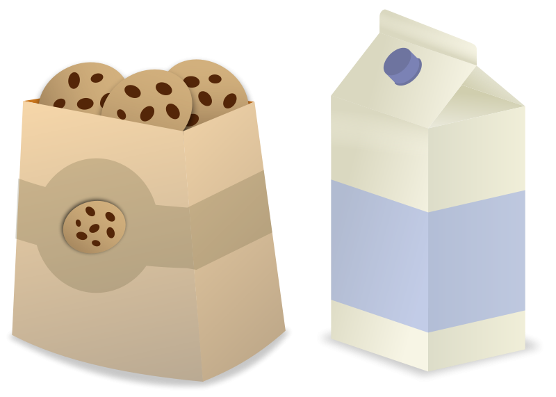 Milk Carton clipart milk bottle Cream Cookies Milk And Ice