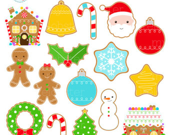 Biscuit clipart christmas cookie Christmas of Clipart Cookies clip