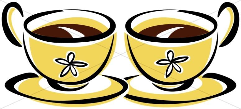 Coffee clipart coffee hour Sharefaith Cups Clipart Hour Refreshments