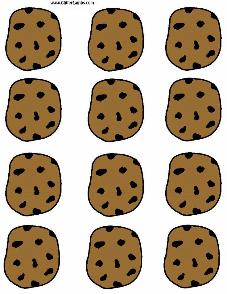 Cookie Monster clipart chocolate biscuit Label Cookie Pinterest on And