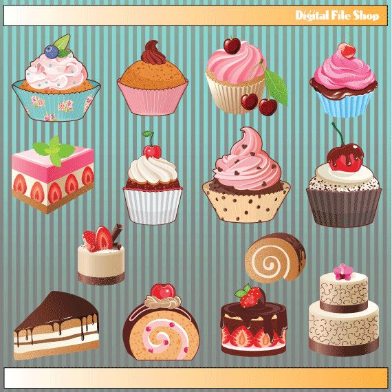 Realistic clipart dessert #6