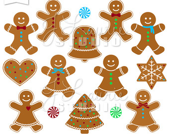 Gingerbread clipart christmas tree Clipart Gingerbread Clipart Peppermints Man
