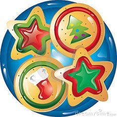 Biscuit clipart holiday cookie Used based are may Christmas