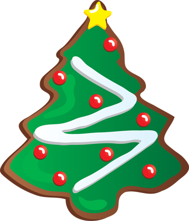 Biscuit clipart holiday cookie On Clip Christmas Clip Art