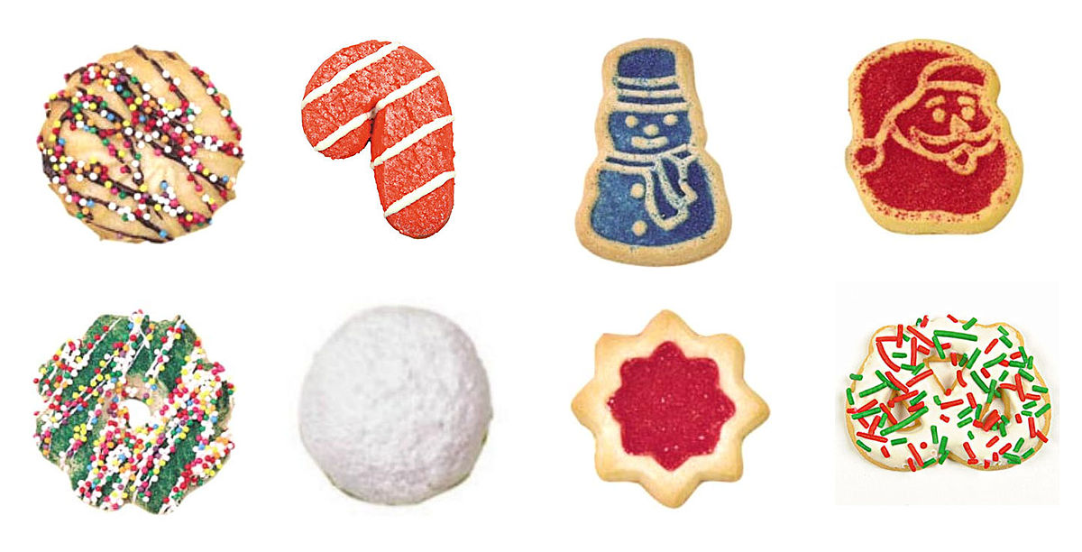 Biscuit clipart holiday cookie  cookie Wikipedia Christmas