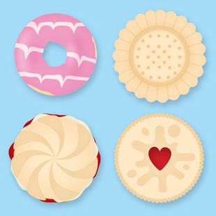 Biscuit clipart jammy Dodger Biscuits by Julia jammy