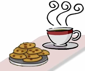 Coffee clipart coffee morning Morning tea cookies Coffee Collection