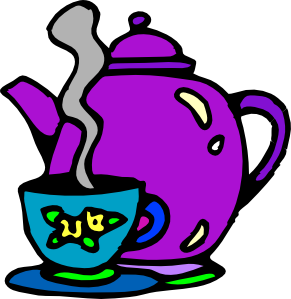 Kettle clipart smoke Tea Clker Kettle clip com