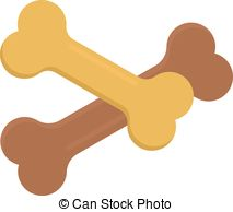 Bones clipart dog biscuit Snack animal dog Dog Bone
