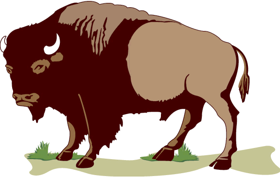Muskox clipart red 1 Bison of Public Free