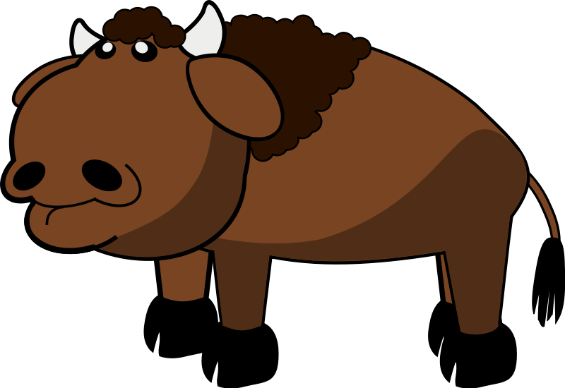 Bison clipart The Best clip  Desing