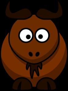 Bison clipart Clker com Art Bison clip
