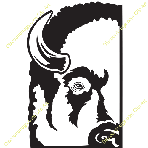 Bison clipart buffalo head Head Art 358x470 Buffalo Pictures