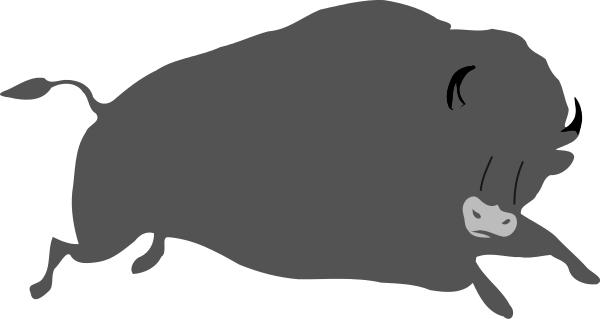 Bison clipart buffalo head Bison Bison page Public Free