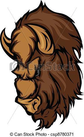 Bison clipart buffalo head Cartoon Bison Clip of