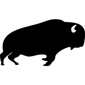 Buffalo clipart Buffalo Outline Clipart Clip Top Clipart 65 Art