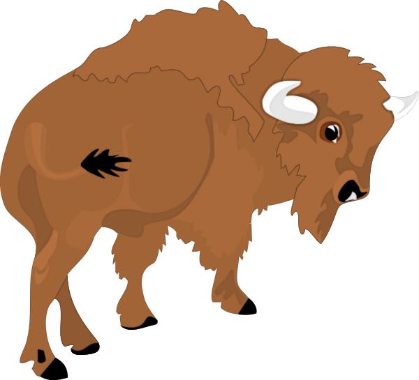 Running Buffalo Clipart Clipart 1 page Free Buffalo