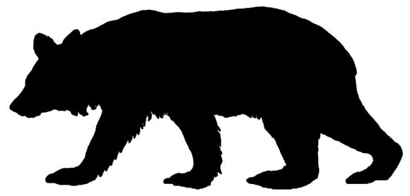 Black Bear clipart 1 Bear Domain Bear page
