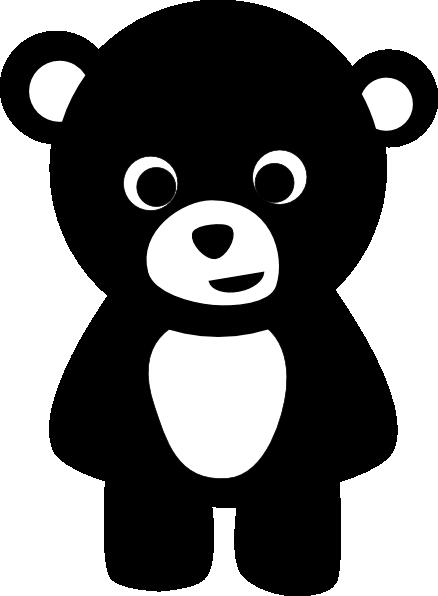 Black Bear clipart At Clip clip image Clker