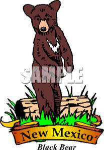 Black Bear clipart new mexico state Image: Free Bear Black Clipart
