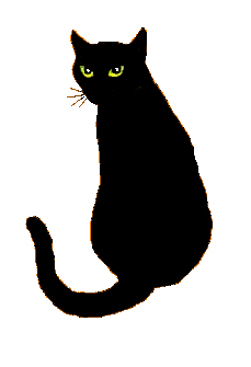 Black Cat clipart cat sitting Clipart Black Black Download Cat