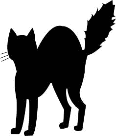 Black Cat clipart blck Black Cat Free art Clipart