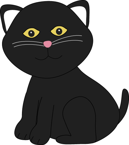Black Cat clipart blck Halloween Black Cute Black Cat