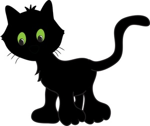 Black Cat clipart tuxedo cat Clipart Halloween Free Cat Black