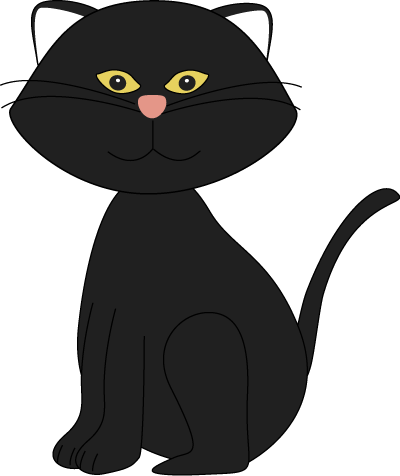 Black Cat clipart cat sitting Black cute%20halloween%20cat%20clipart Images Free Halloween