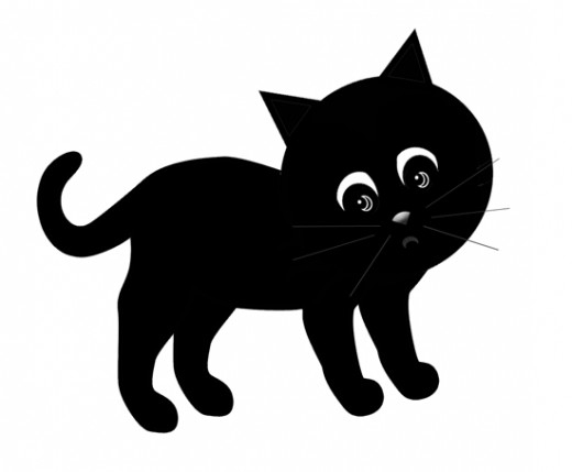 Black Cat clipart black and white Cat white Cat and black