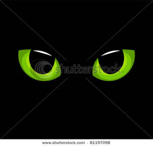 Black Cat clipart cat eye Eyes The Image: a The
