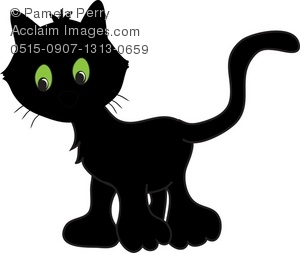 Black Cat clipart cat eye Black of Illustration With of