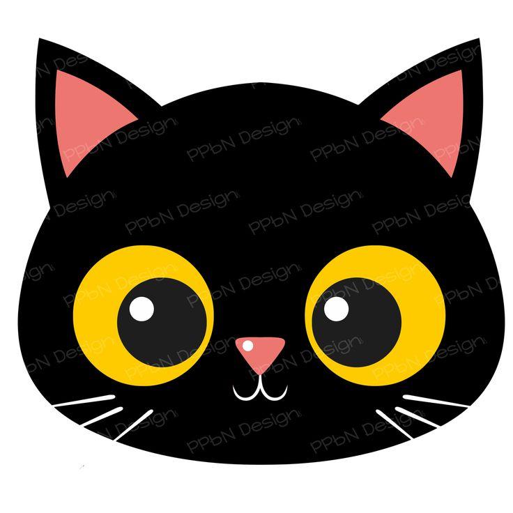 Black Cat clipart cat face Pinterest 00 Only) (http:/ Cats